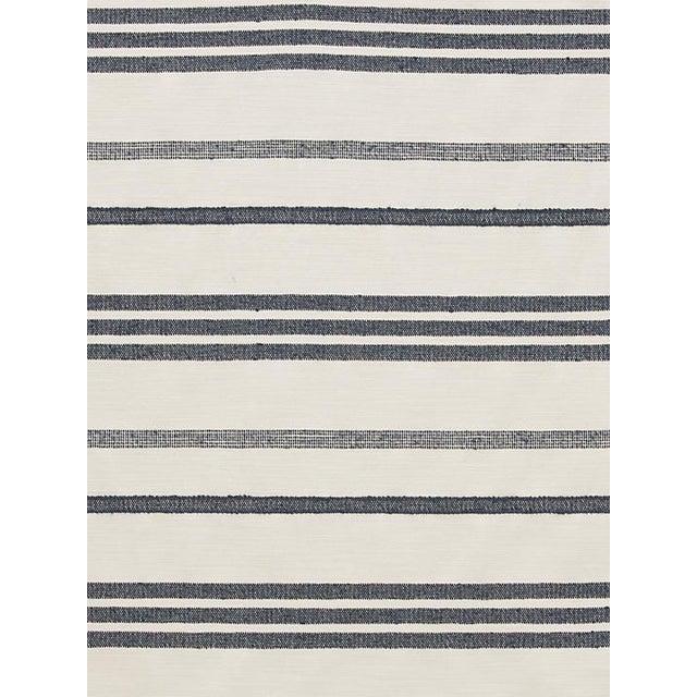 Scalamandre Marina Stripe Orage Fabric For Sale