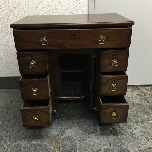 Antique English Bonnet Desk - Image 5 of 9