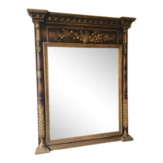 Italian Trumeau Mirror For Sale