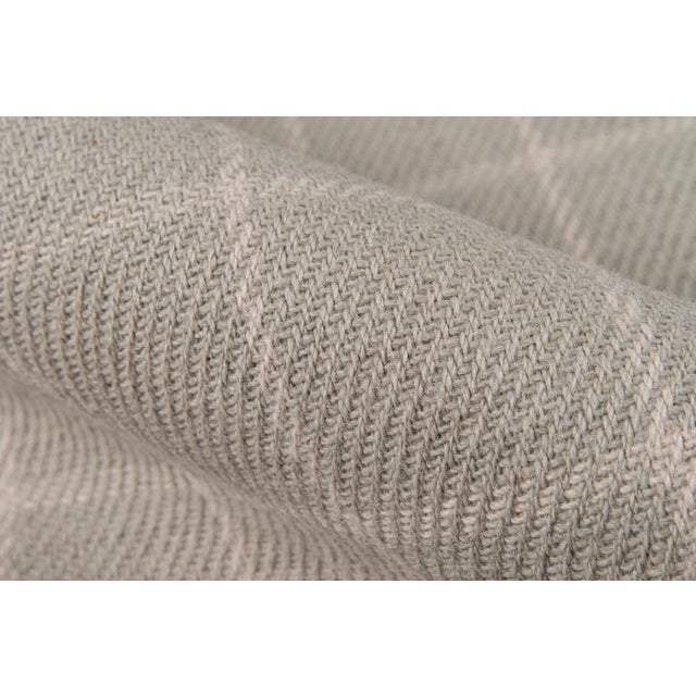 Erin Gates by Momeni Marlborough Deerfield Grey Hand Woven Wool Area Rug - 8′ × 10′ For Sale - Image 4 of 8