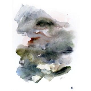 EH Sherman - Twilight in Kyoto Original Watercolor