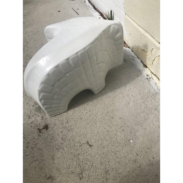 Jonathan Adler Ceramic Menagerie Elephant For Sale - Image 6 of 7