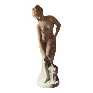 "Modern Life-Size ""La Baigneuse"" (The Bather) French Statue For Sale"
