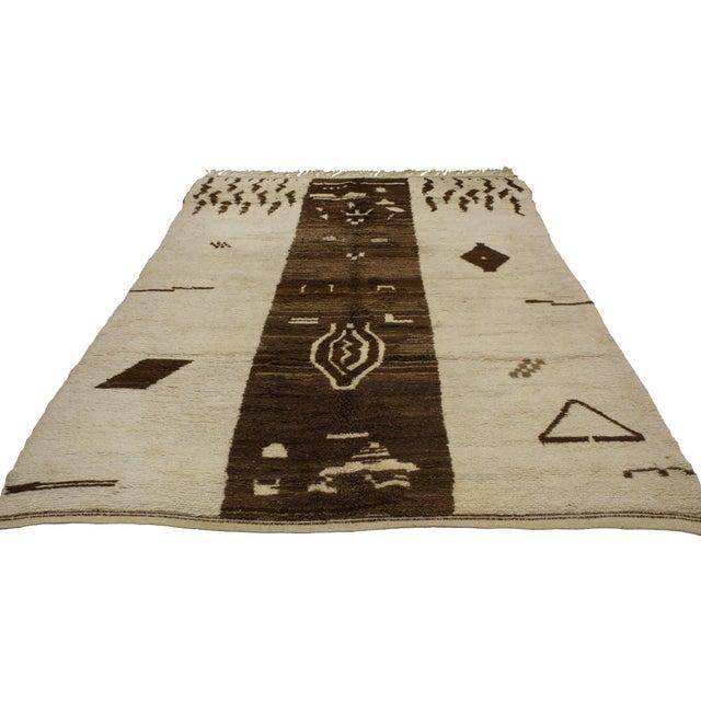MCM Berber Moroccan Rug, 5'9x8'3 - Image 3 of 3
