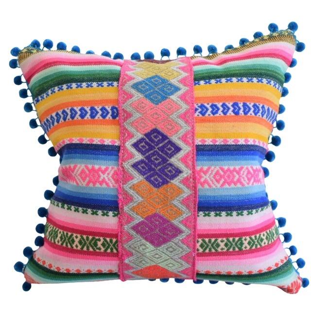 Peruvian Manta Lux Pillow - Image 1 of 5