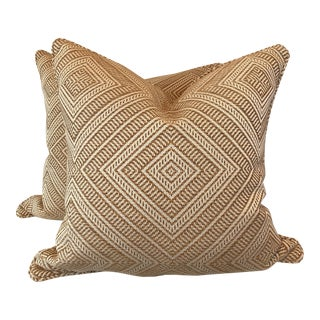 "Schumacher ""Tortola "" 22"" Pillows - A Pair"