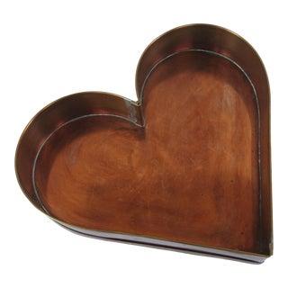 Copper Heart Pan