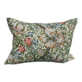 """Classic William Morris Beautiful """"Gilded Lilly"""" Pillow For Sale"""