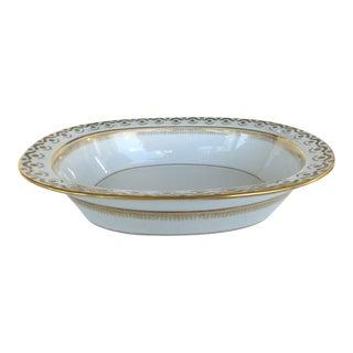 """""""Elite Works"""" Limoges France Hand-Painted Porcelain Oval Serving Dish For Sale"""