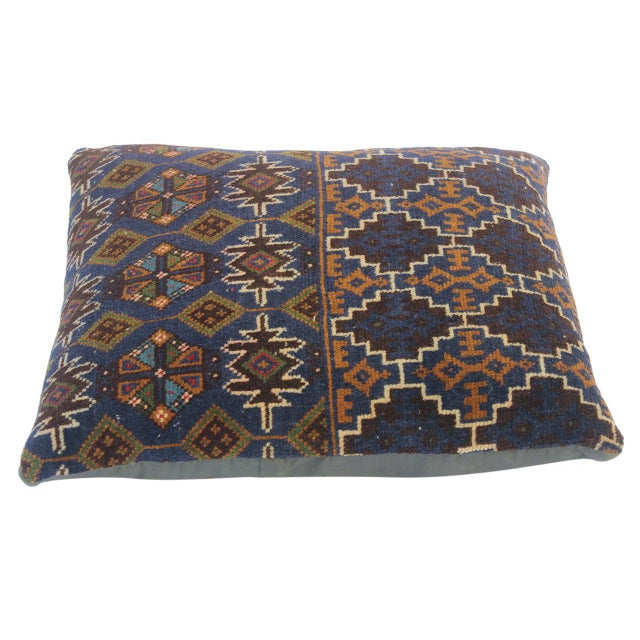 Embellish your home with this timeless casual chic handmade Southwestern Antique Kilim throw pillow covers made with wool...