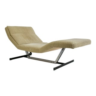 Vintage Mid Century Saporiti Chaise For Sale
