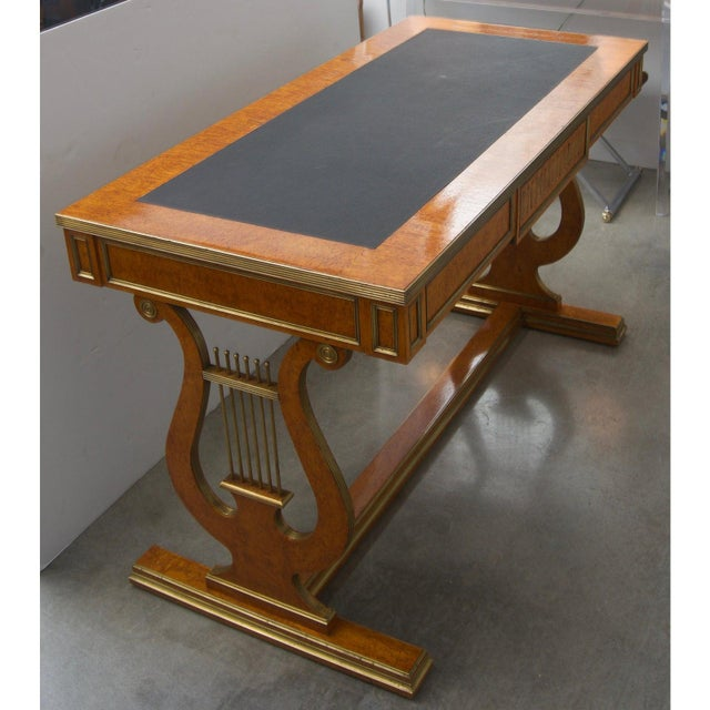 Traditional Antique Tsarist Russia Library Table For Sale - Image 3 of 11