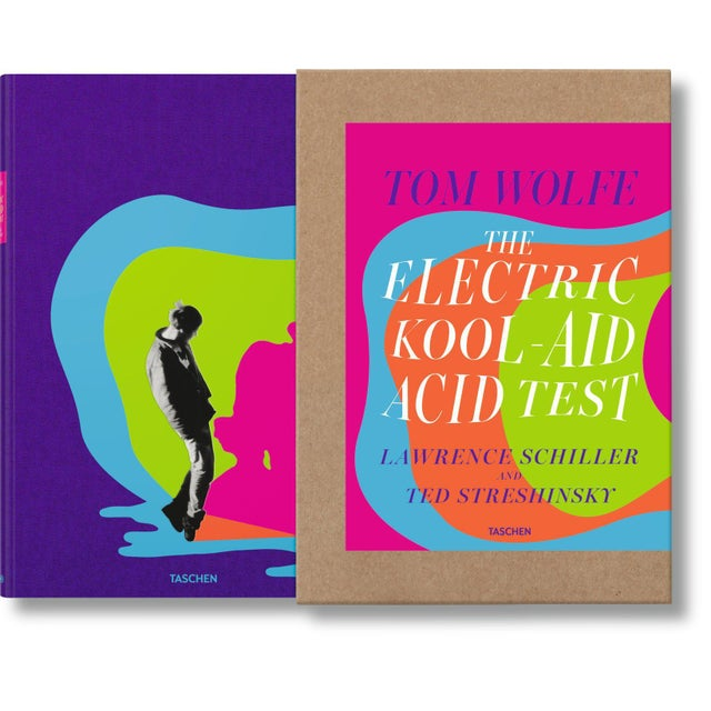 """Hot Pink """"The Electric Kool-Aid Acid Test"""" Autographed by Tom Wolfe Photography by Lawrence Schiller & Ted Streshinsky Collector's Edition For Sale - Image 8 of 8"""