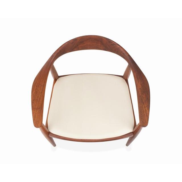 Johannes Hansen Vintage Danish Modern Teak Jh 503 Chair by Hans Wegner For Sale - Image 4 of 8
