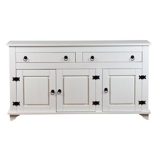 Reclaimed White Pine Wood Sideboard