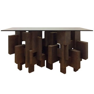 """Geo Console I"" Table by Dan Schneiger For Sale"