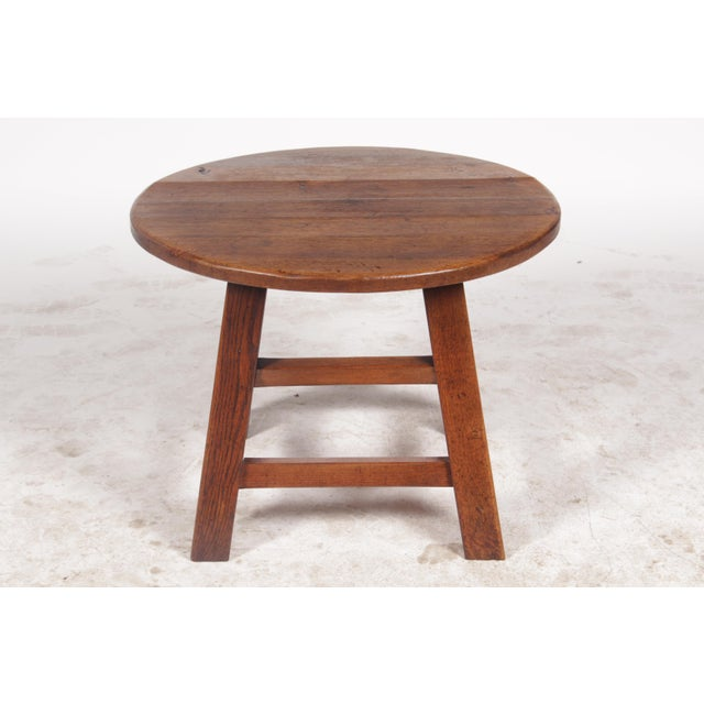 1950s Bavarian-Style Round Coffee Table - Image 2 of 9