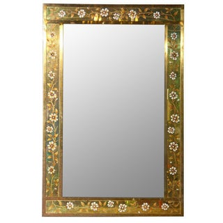 Hollywood Regency French Bronze Mirror