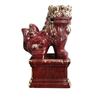 Asian Overscaled Foo Dog Statue