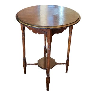 Uncle Stuart's Antique Mahogany Occasional Table C.1915 For Sale