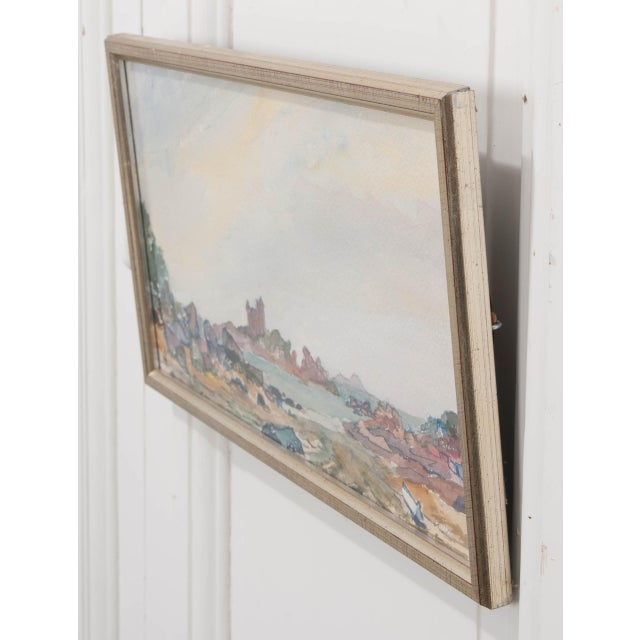 French 19th Century French School Watercolor Painting on Paper For Sale - Image 3 of 5
