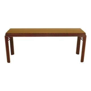 Henredon Asian Influenced Mahogany Sofa Table For Sale