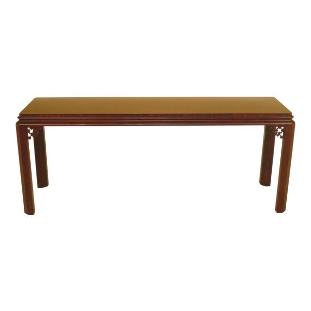 Prime Henredon Asian Influenced Mahogany Sofa Table Andrewgaddart Wooden Chair Designs For Living Room Andrewgaddartcom