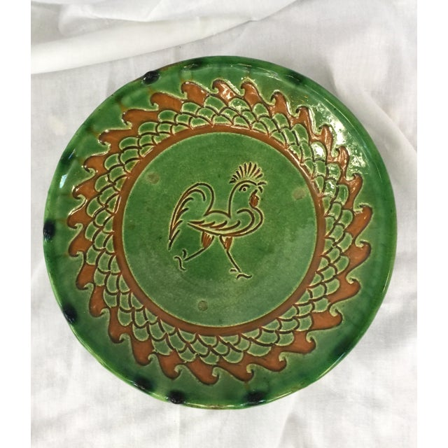 Spanish Decorative Hanging Plate Paco Tito of Ubeda, Spain, Rooster For Sale - Image 12 of 12