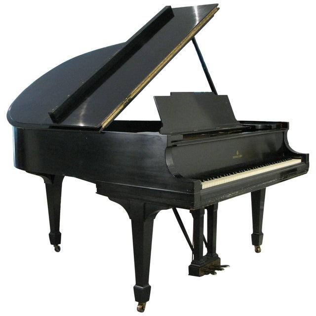 Steinway & Sons 1912 Model M Ebony Piano For Sale - Image 12 of 12