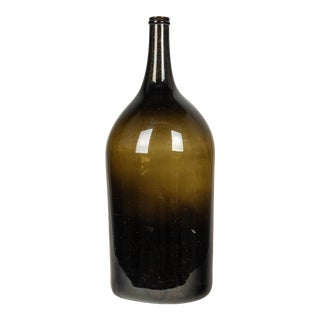 19th Century French Glass Bottle For Sale