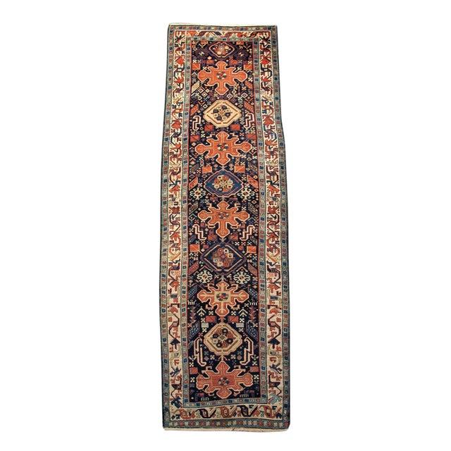 Trans Caucasian Rug - 3′5″ × 11′1″ For Sale