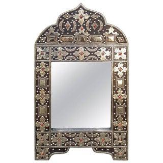 Kasbah Arched Moroccan Marrakech Metal Inlaid Mirror