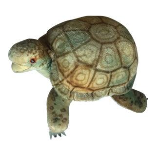 1950s Vintage Steiff Mohair Turtle Stuffed Animal For Sale