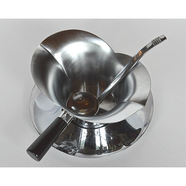 Chase 3-Piece Lotus Gravy Set For Sale - Image 5 of 7