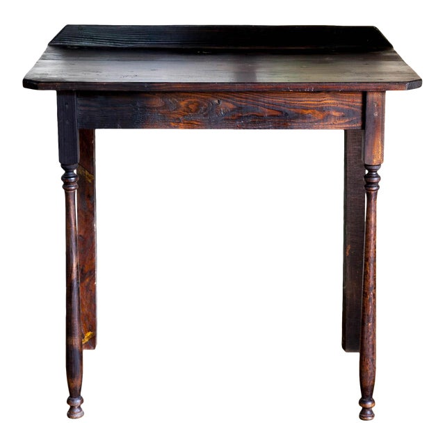 Vintage Texana Solid Wood Lectern/Writing Table For Sale