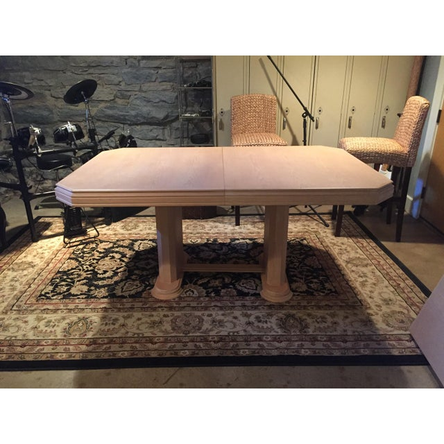 Solid Wood Dining Table - Image 2 of 9