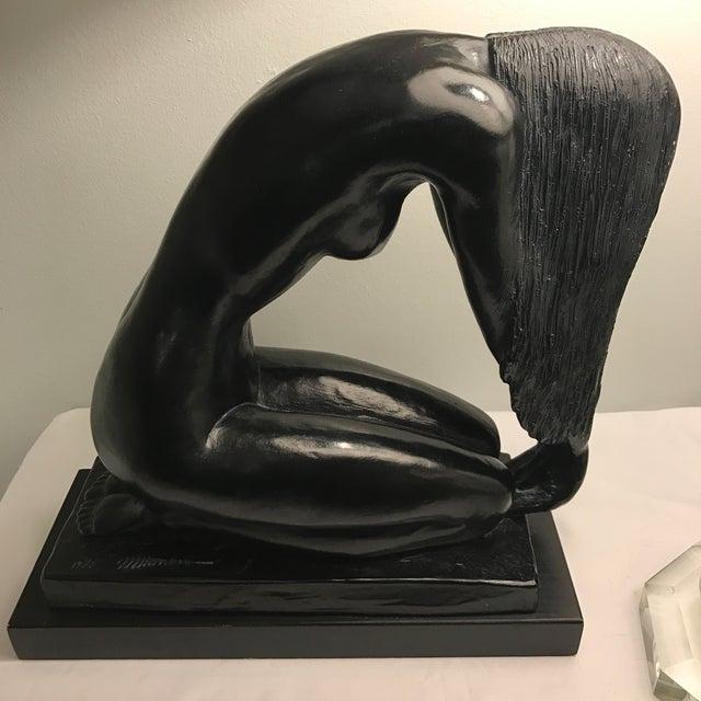 Vintage Nude Statue by Mort Malkin - Image 5 of 11