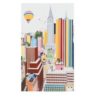 Mori Shizume - New York Skyline 3 Silkscreen
