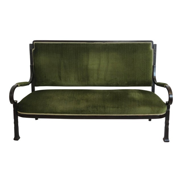 Very Rare Bentwood Salon Bench Nr. 14 by Thonet For Sale