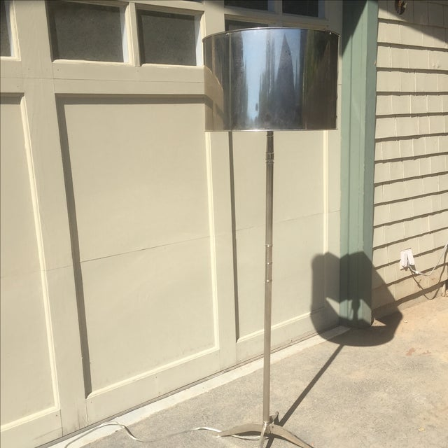 Williams Sonoma Metal Floor Lamp - Image 4 of 4