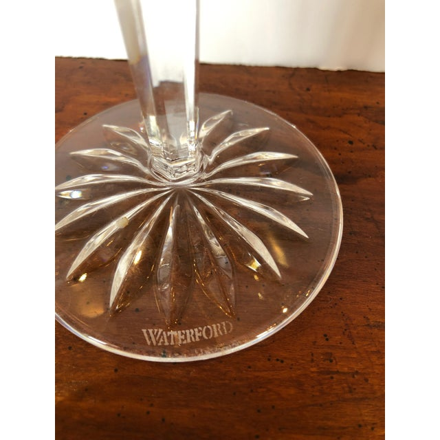 Waterford Crystal Waterford Crystal 12 Days of Christmas Champagne Flutes- 12 Pieces For Sale - Image 4 of 12