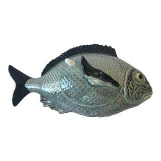 Majolica Fish Tureen