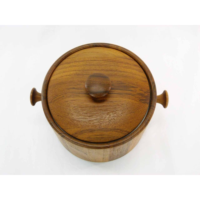 Danish Teak Ice Bucket - Image 4 of 5