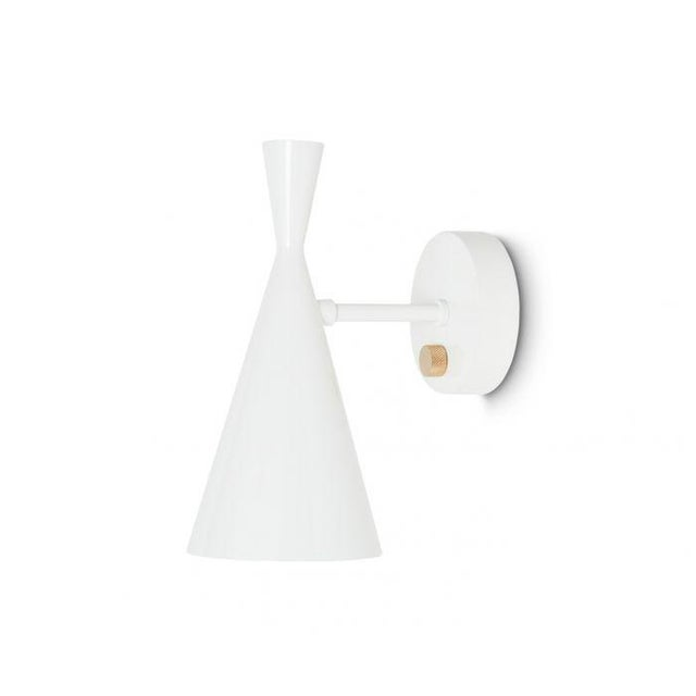 Asian Tom Dixon Beat Wall Light in White For Sale - Image 3 of 9