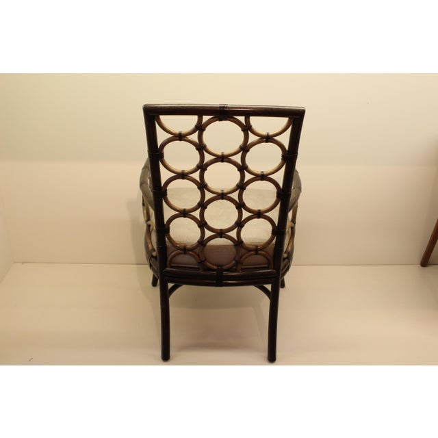 McGuire Laura Kirar Ring Arm Chair - Image 4 of 6