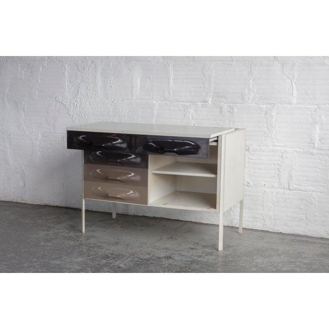 Raymond Loewy Slide Top Desk - Image 5 of 8