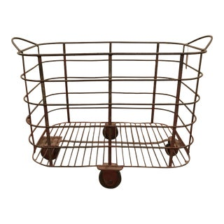 Belgian Metal Cart For Sale
