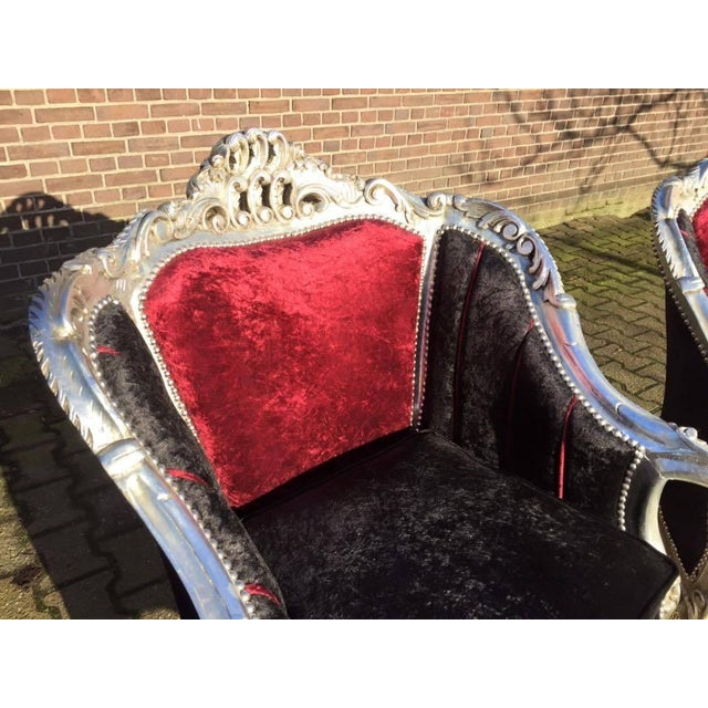 Baroque Style Chairs - Pair - Image 6 of 6