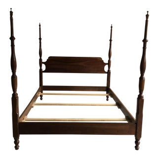 Stickley Four Poster Queen Sized Bed For Sale