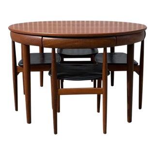 1950s Roundette Dining Set by Hans Olsen for Frem Røjle For Sale